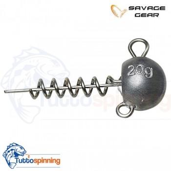 Savage Gear Ball Corkscrew Heads