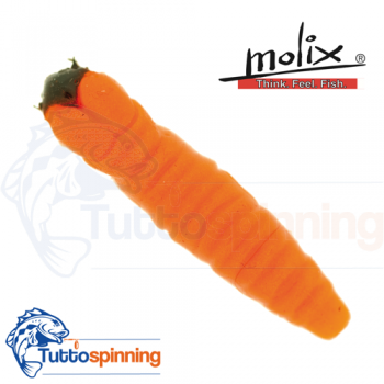 Molix CW Worm Glowing Orange