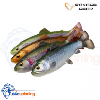 Savage Gear 4D Line Thru Pulse Tail Trout