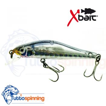 Jerk 50MM SP SR suspending silver Minnow