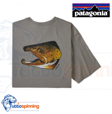Patagonia Men's Fish Noggins Organic Cotton T-Shirt