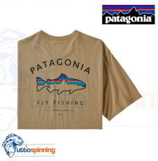 Patagonia Men's Framed Fitz Roy Trout Organic Cotton T-Shirt - CSC