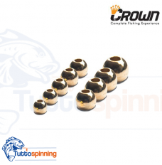Crown Tungsten Flare Beads