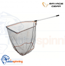 Savage Gear Guadino Pro Folding Rubber Mesh Landing Net