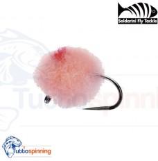 SFT Soldarini Tungsten Nymphs Barbless - Pink Tungsten Egg