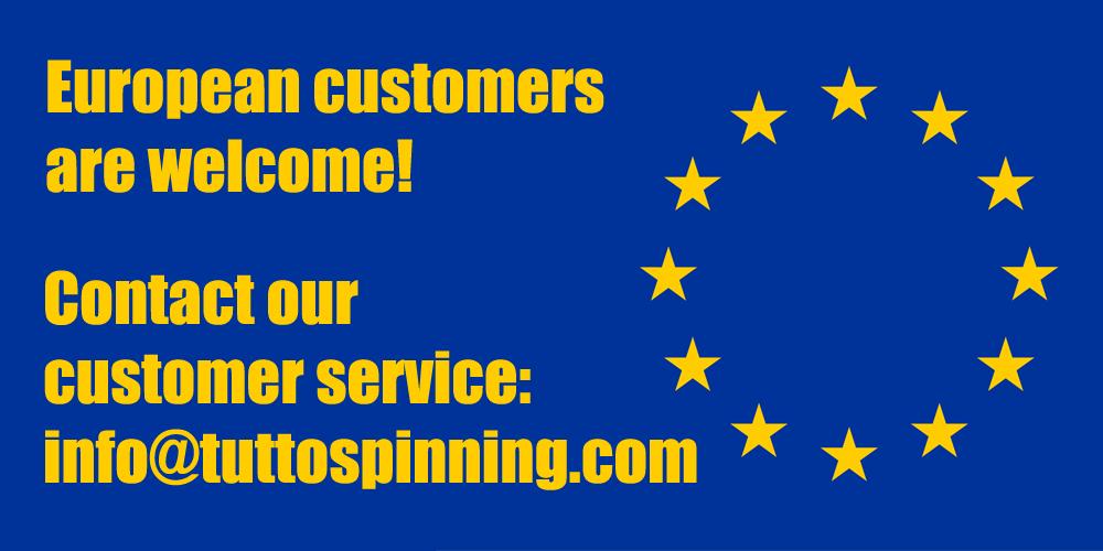 European Customer are welcome