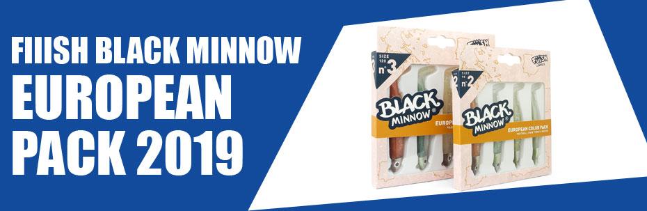 Fiiish Black Minnow European Pack